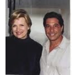 Diane Sawyer and Larry Garrison